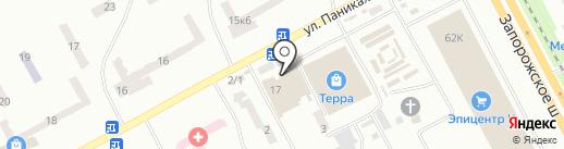 Платный общественный туалет на карте Днепропетровска