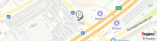 Monolit gym на карте Днепропетровска