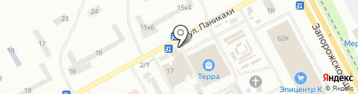 Компаньйон Фінанс на карте Днепропетровска