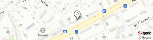 Монте-плюс на карте Днепропетровска