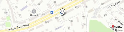 Банкомат, КБ ПриватБанк на карте Днепропетровска
