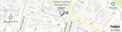Классика-М на карте Днепропетровска