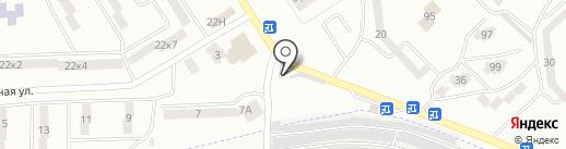 Автостоянка на карте Опытного