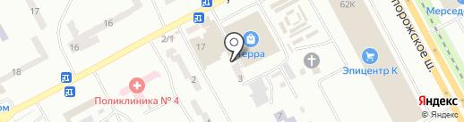 Сантехника на карте Днепропетровска