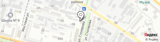Sport-city на карте Днепропетровска