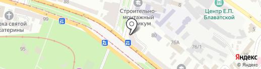 РАДІУС на карте Днепропетровска