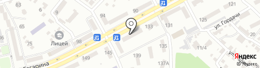 Аиша на карте Днепропетровска