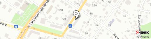 Косметологическая больница на карте Днепропетровска