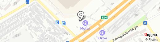 Prince Авто на карте Днепропетровска