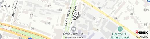 Мир-Вояж на карте Днепропетровска