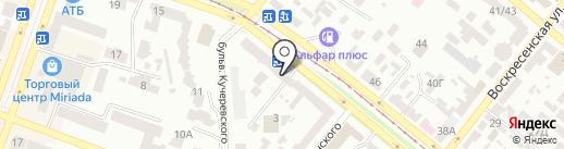 Brother на карте Днепропетровска