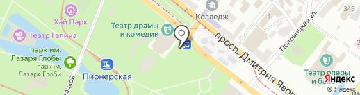 MAFIA на карте Днепропетровска