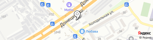 Стройматериалы на карте Днепропетровска