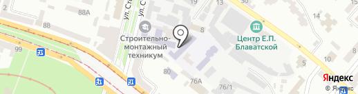 Magic Style на карте Днепропетровска