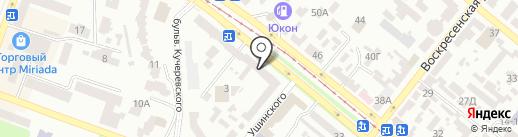 ПИНГВИН на карте Днепропетровска