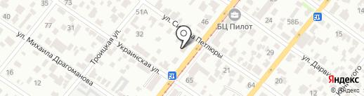 Империя паркета на карте Днепропетровска