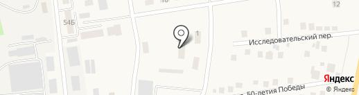Централізована система публічних бібліотек для дорослих на карте Опытного