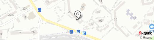 Блюз на карте Днепропетровска