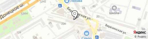 Квіти на карте Днепропетровска