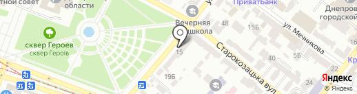 Juliana Day Spa на карте Днепропетровска