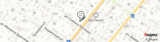 MANEZH на карте Днепропетровска