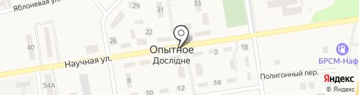 Продуктовый магазин на карте Опытного