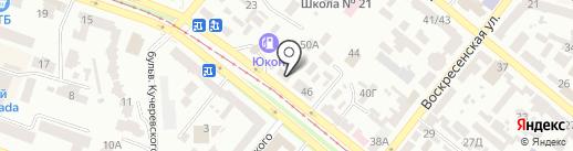 Novia de Art на карте Днепропетровска