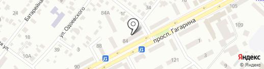 T.D.Dnipro на карте Днепропетровска