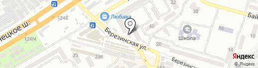 Терминал самообслуживания, УкрСиббанк на карте Днепропетровска