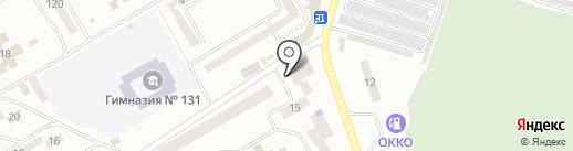 Элегант на карте Днепропетровска