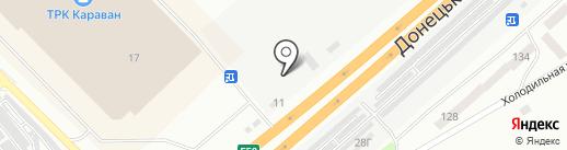 Драйв Авто на карте Днепропетровска