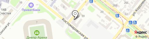 Бюро стандартных образцов на карте Днепропетровска