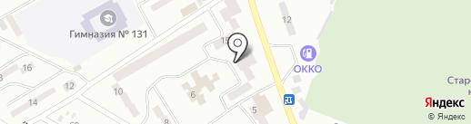 Кедр на карте Днепропетровска