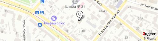 Укрспецстрой на карте Днепропетровска