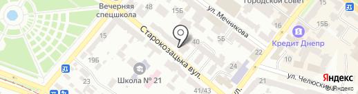 KSG Agro на карте Днепропетровска