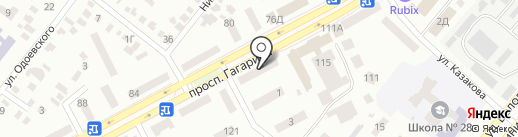 Еталон на карте Днепропетровска