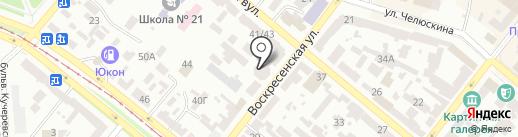 Перспектива, ПАТ на карте Днепропетровска