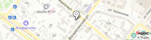 АПРИОРИ на карте Днепропетровска