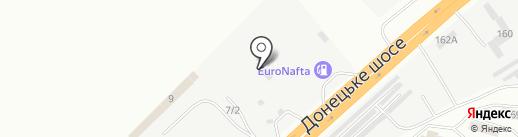 Ritex на карте Днепропетровска