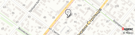 Imagin на карте Днепропетровска