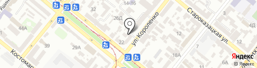 Гольфстрим на карте Днепропетровска