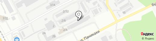 Днепрсварка на карте Днепропетровска