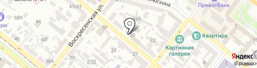 BON HOTEL на карте Днепропетровска