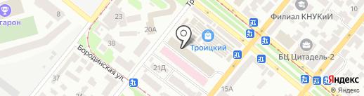 Вектор на карте Днепропетровска