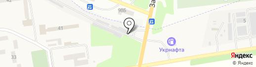 АГЗС Эссенс-Премиум на карте Опытного