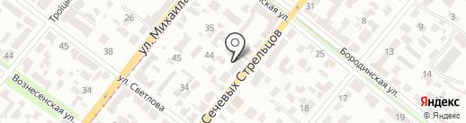 Магазин автозачастей для Skoda, Audi на карте Днепропетровска