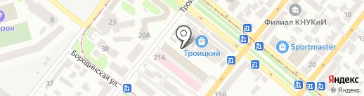 Магазин сантехники на карте Днепропетровска