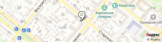 Нотариус Крючкова Т.В. на карте Днепропетровска