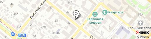 Nikile на карте Днепропетровска