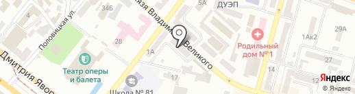 ТВ точка на карте Днепропетровска